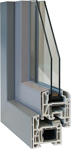 ISARHOLZ  Holz/Aluminium-Fenster ct70as classic top alu