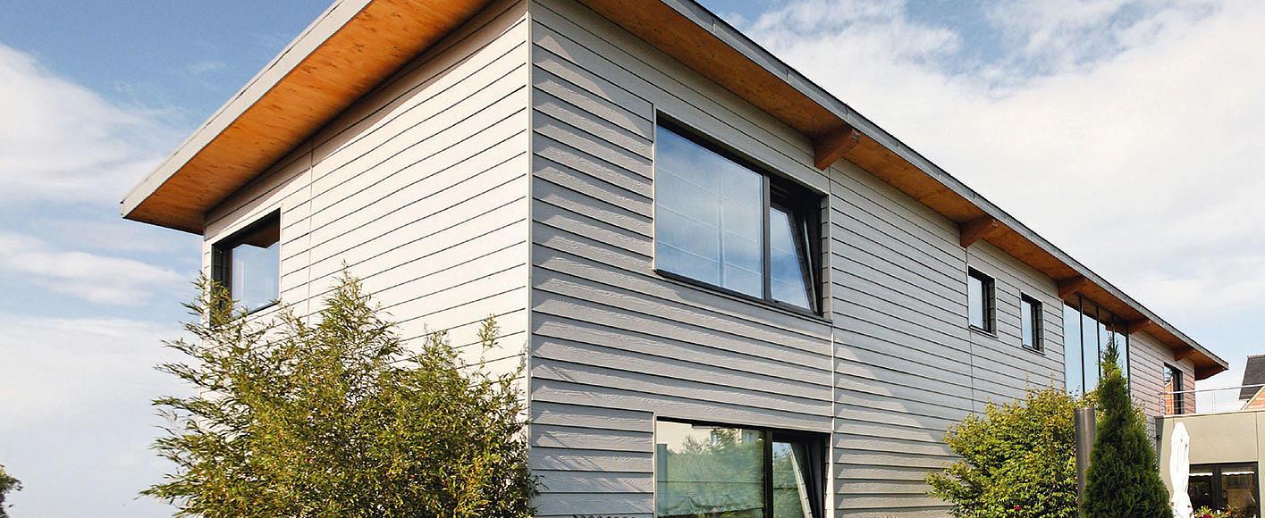 Hervorragend CEDRAL Faserzement-Fassaden: Holz Büchner GmbH & Co. KG EP84